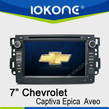 """factory 7"""" HD Touch screen chevrolet spark car audio system with TMC, camera, mic, dvb-t"""