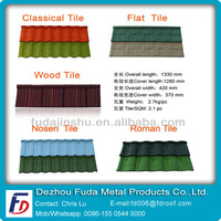 SONCAP Colorful Stone Coated Metal Roofing Shingles Factory