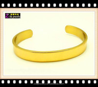 Wholesale men's gold adjustable solid copper bracelet for arthritis with best price