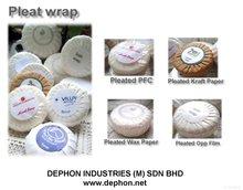 Hotel Soap, Round Pleat wrap Soap, Bath soap