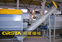 good quality HDPE bottle plastic recovering system for milk, oil, shampoo bottle recycling washing line