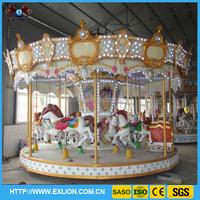 newest design amusement ride carousel screen printing machine for sale