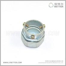 Flexible electrical conduit set screw coupling / fittings