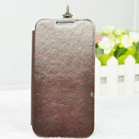 2014 Special Style PU+TPU Material Mobile Phone Leather Case for LG L90
