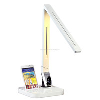 Fashionable Electronic products SAMSUNG docking station LED study reading lamp with 9steps dimming/4color temperatures/USB port