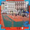 newest design interlocking volleyball flooring