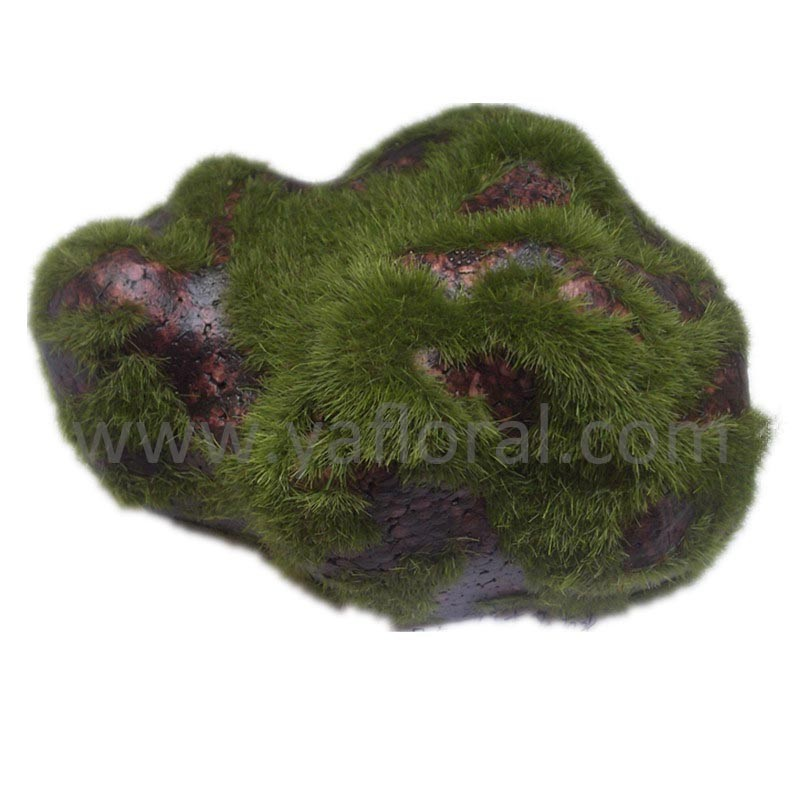 large decorative rocks artificial moss rock garden moss