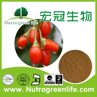 Wolfberry goji berry natural plant extract, 50% polysaccharides price negotiable