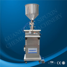 spx Semi automatic cream paste filling machine for jam/butter/cosmetics cream