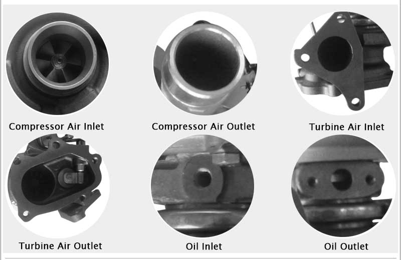TD04L 49377-04300 14412AA360 14412AA140 4937704300 49377 04300 Turbo For SUBARU Forester Impreza WRX-NB 1998-03 58T EJ205 2.0L