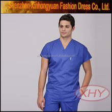 high quality fashionable custom man nurse uniform design