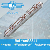 silicone sealant with weatherproof and waterproof for curtain wall