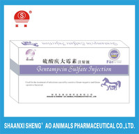 Veterinary Medicine for GMP Certificate Gentamycin Sulfate Injection as Manufacture supplier