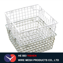 wire mesh storage basket/stainless steel wire baskets manufacture in china