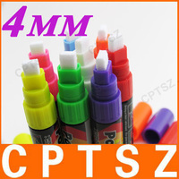 8 pcs Highlighter Fluorescent Liquid Chalk Marker Pen for LED Writing Board 4mm