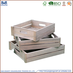 high quality cheap wood fruit crates, wooden packing boxes fruits and vegetables