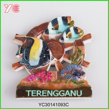 YC30171093C Custom Country Souvenir Fridge Magnets For Malaysia Tourist