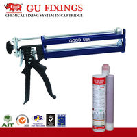 For 400ml pure epoxy adhesive construction dispensing guns