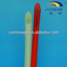 high quality reinforced silicone rubber fiberglass cable sleeve