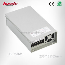 FS-350W-24V 14.6A LED rainproof power supply with CE ROHS KC Certifications