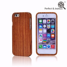 With Color Silkprint Big Discount wood+alumnium phone cover for iphone 6