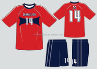 High quality Crazy Selling soccer league uniform design