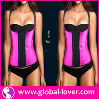 Accept Paypal Plus Size Cheap Waist Training Corsets Wholesale & 2015 sexy latex corset