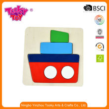 Intellectual Brain Training Solution Wood Game Pieces