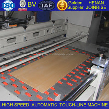 High speed Automatic corrugate cardboard creasing line machine used for bulk order of carton producing