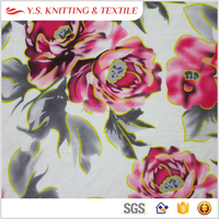 2015 Fashion print 100 polyester shiny super soft stretch velvet upholstery fabric, cheap polyester fabric