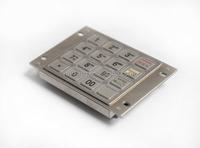 China manufacturer sale atm machine parts Hitachi ZT598 H21-D16-JHTE(Black) EPP keyboard
