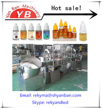 5ml a 30ml automatico sigaretta elettronica liquido di riempimento e tappatura macchina