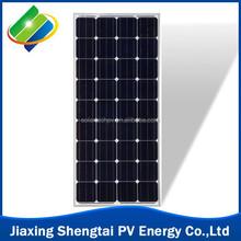 100W 18v Solar Panel monocrystalline popular sale solar pv module made in china