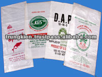 high quality pp woven chicken feed packaging bag 50kg