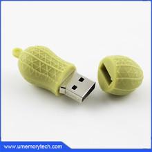 Food peanut shape wholesale usb memory sticks china pen drive bulk cheap usb flash drive