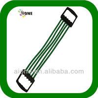 body building latex fitness sport equipment latex fitness exercise tube chest expander