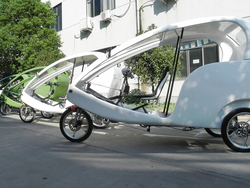 Adult Tricycle With Passenger Seat Similar to German Velo Taxi