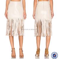 Fashion creme pictures of a-line skirt long leather skirt elegant tight pencil skirt