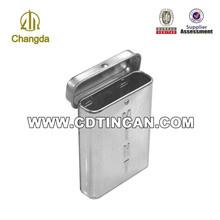 mini blechdose für zigarettenverpackungen mit scharnier