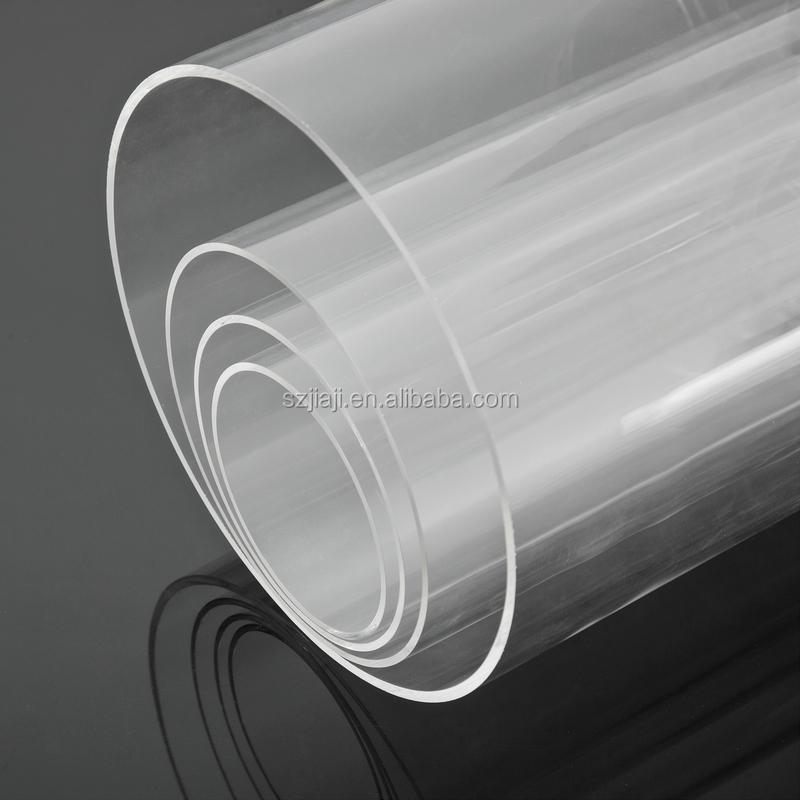 Acrylic large tube plexiglass large tube pmma large tube for Plaque de plexiglass castorama