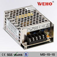 MS-15-5 220v to dc 3a 5v led smps 5v dc power supply