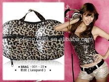 2013 EVA Leopard Travelling Bra Bag (BRAG-001-22) waterproof bra bag