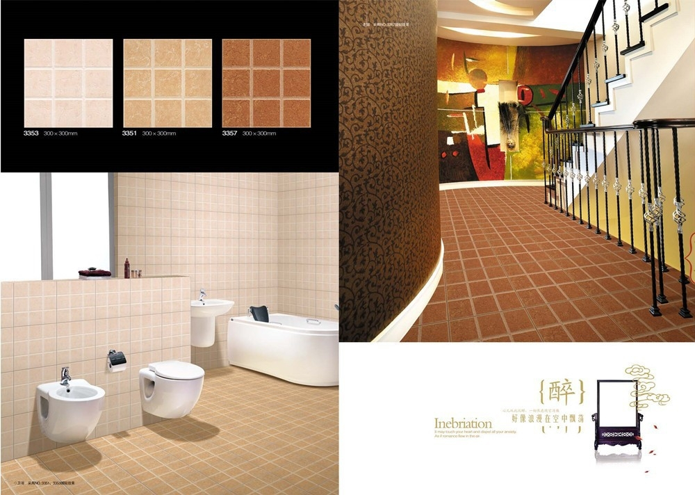 Bathroom floor tiles sizes