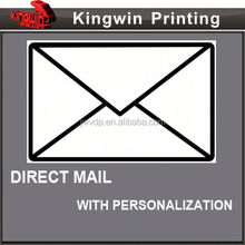 card games mail printing NO.360 light weight paper magazine mail printing