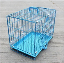 Metal wire dog house portable outdoor pet cage
