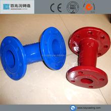 seamless blue epoxy 90/45 degree double flange elbow price