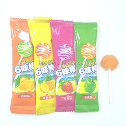 Yummy lollipop hard candy fruit flavours lollipop