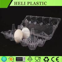 Wholesale PVC PET clear bulk egg cartons