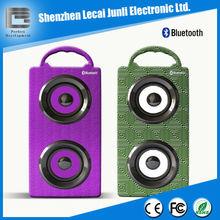 Powerful sound portable bluetooth tower speaker, wooden tower speaker