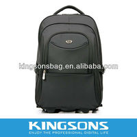 2014 new fashion brand laptop trolley backpack,new style girl boys trolley back pack